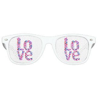 LOVE Heart Text Shades Sunglasses