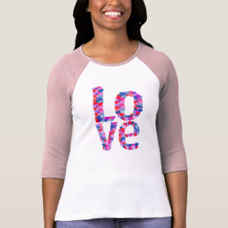 LOVE Heart Text T-Shirt