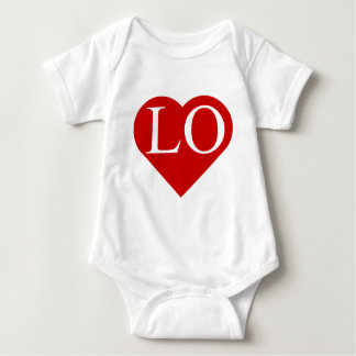 LOVE - Heart with LO (1 of 2) Shirt (Twins)