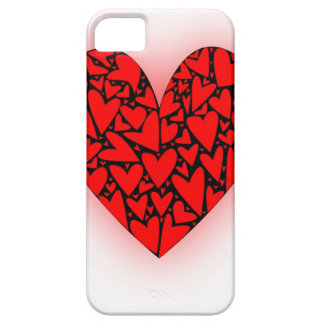 Love Hearts Barely There iPhone 5 Case