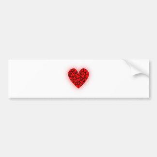 Love Hearts Bumper Sticker