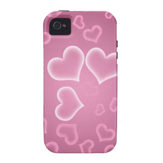 Love Hearts Vibe iPhone 4 Cover