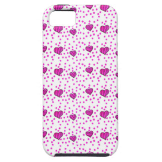 love hearts iPhone 5 cover