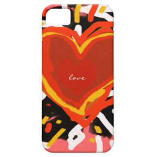 love, hearts iPhone 5 cover