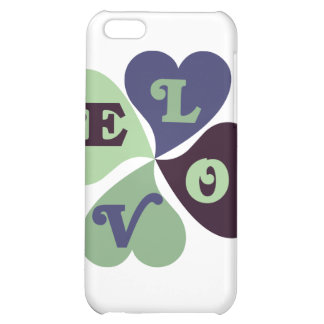 Love Hearts iPhone 5C Cover