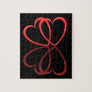 Love hearts. jigsaw puzzle
