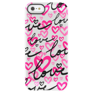 Love Hearts Permafrost® iPhone SE/5/5s Case