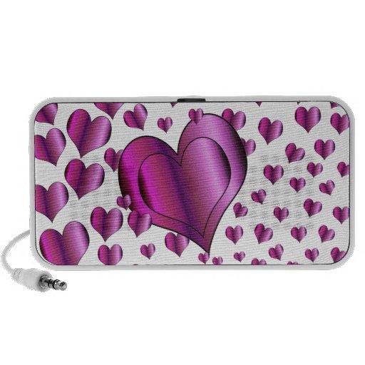 Love Hearts Mini Speakers