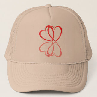 Love hearts. trucker hat