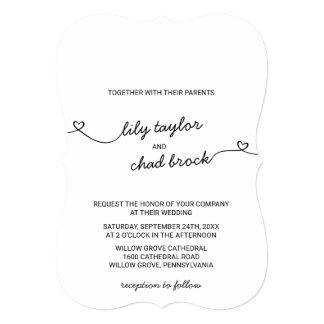 Love Hearts Wedding Card