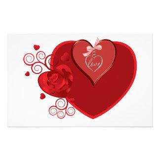 Love Heartstrings Stationery