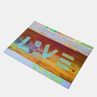 Love Hippie Bohemian Boho Doormat