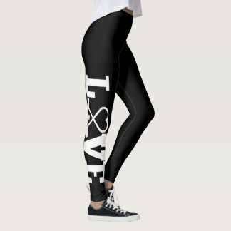 LOVE HOCKEY LEGGINGS