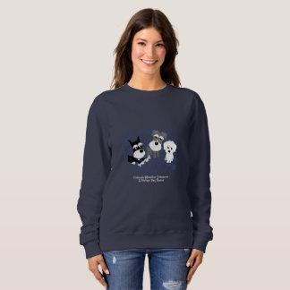 Love, Home - Schnauzer Dark Sweatshirt (Women)