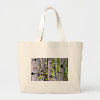Love, Hope and Faith Large Tote Bag