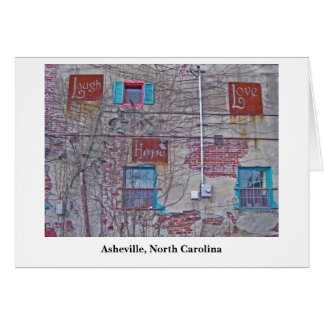 love hope Asheville, Asheville, North Carolina Card