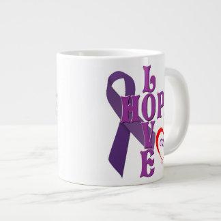 Love Hope Cure Giant Coffee Mug