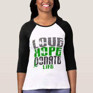 LOVE HOPE DONATE LIFE T-Shirts, Gifts, & Apparel T-Shirt