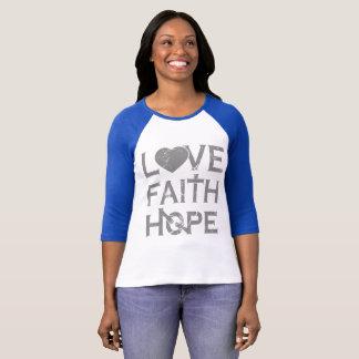 Love Hope faith T-Shirt