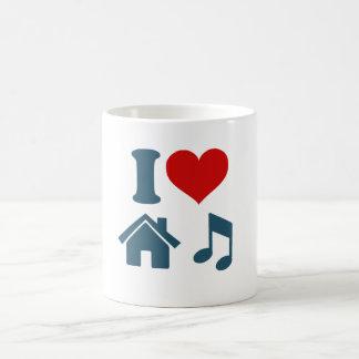 Love House Music Mug