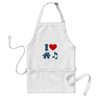 Love House Music Standard Apron