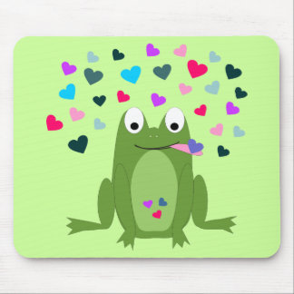Love Hungry Frog Mousepad