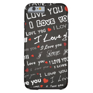 Love I Love You Hearts Tough iPhone 6 Case