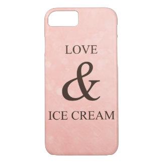 Love & ice cream iPhone 7 case