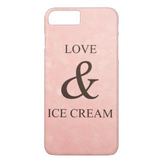 Love & ice cream iPhone 7 plus case