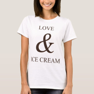 Love & ice cream T-Shirt