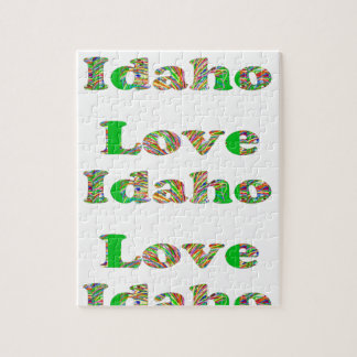 LOVE IDAHO JIGSAW PUZZLE