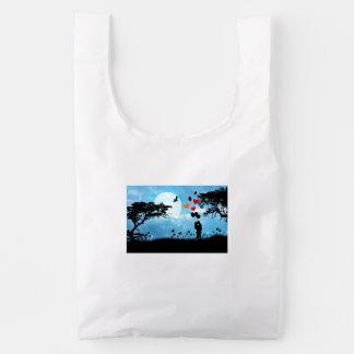 Love illustration baggu reusable bag