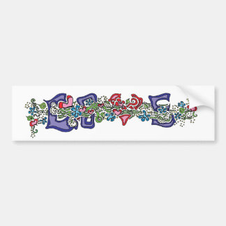 Love in Bloom Bumper Sticker