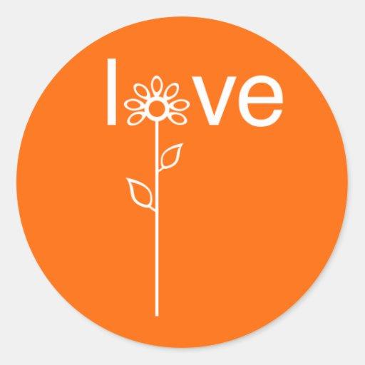Love in Bloom Customizeable Sticker