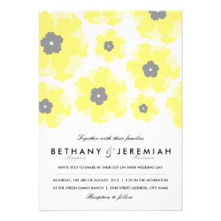 Love in Bloom Wedding Invitation