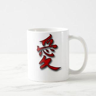 Love in Kanji Mugs