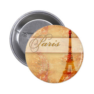 Love in Paris 6 Cm Round Badge