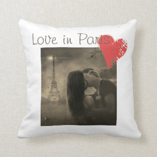 Love in Paris Cushion