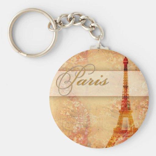Love in Paris Key Chains