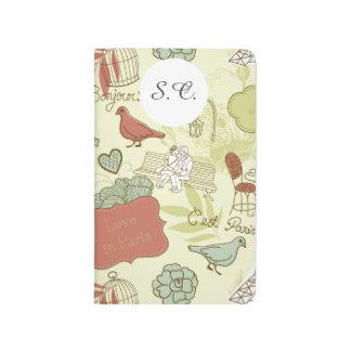 Love in Paris Pattern Journals