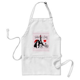 Love in Paris Standard Apron