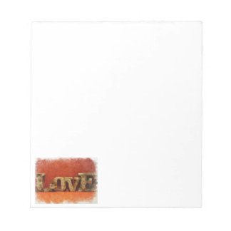 Love in Red Notepad