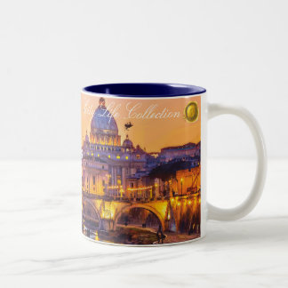Love in Rome Two-Tone Mug