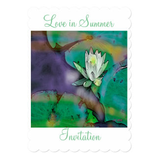 """Love in Summer""Design Wedding Invitation"