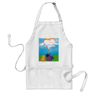 Love in the Clouds Standard Apron