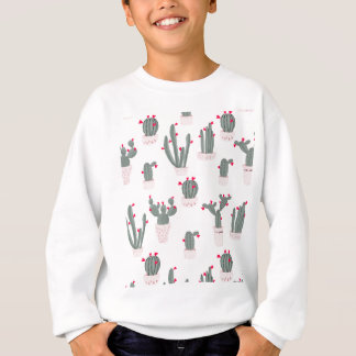 Love in the Desert Cacti Pattern Sweatshirt