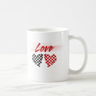 Love in the fast lane -for Nascar fans Coffee Mug
