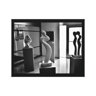 Love in the Museum Canvas Print