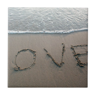 Love In The Sand Tile