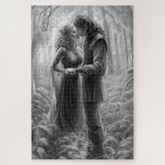 Love in the Woods Large Puzzle